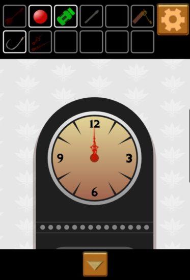 PLAIN ESCAPE #1 攻略 その3(花瓶の横の4つの数字・本の謎・時計の時間)