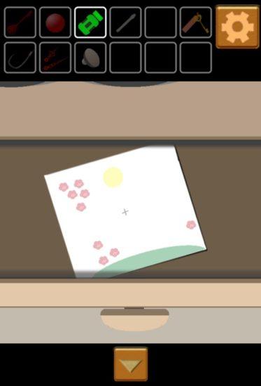 PLAIN ESCAPE #1 攻略 その4(茶色の扉の開き方・本の果物の絵の謎・電話機の4桁の数字)
