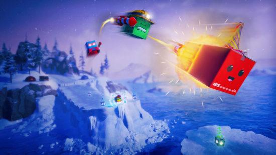 Nintendo Switch版『Unbox: Newbie's Adventure』が配信開始!自動配達ダンボールをテーマにしたユニークなアクションゲーム!