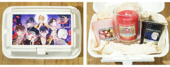 『イケメンヴァンパイア』のアロマキャンドルセットが3月14日に発売!ヤンキーキャンドルとコラボ
