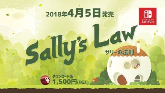 Switch版「サリーの法則」は4月5日に配信開始!泣ける横スクロールアクションがSwitchでも楽しめる!