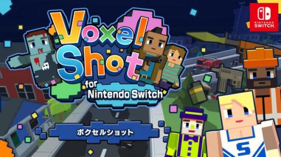 みんなでワイワイ楽しめる!Nintendo Switch向けダウンロードソフト『ボクセルショット』が4月19日より配信開始!