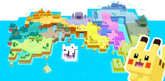 ポケモンたちが「四角」になった!Nintendo Switchで「ポケモンクエスト」が配信開始!6月末にはスマートフォンでも配信予定