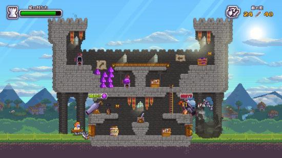 籠城戦アクションゲーム『ノーヒーローズ・ヒア』のSwitch版が配信開始!