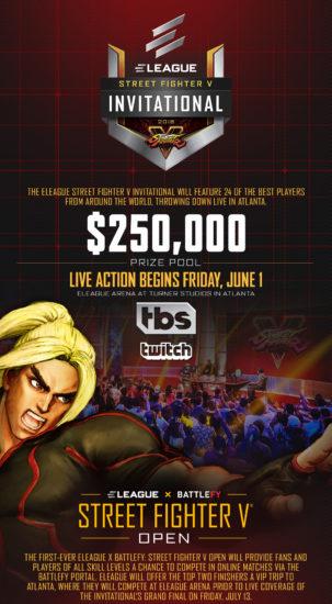 アメリカで開催中のストV大会『Street Fighter V Invitational 2018』の予選終了、決勝大会には日本人選手5人が出場