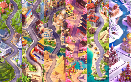 King、最新作パズルゲーム『ダイヤモンドダイアリー』をリリース!