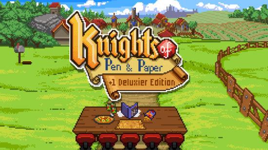 レトロ風王道RPG 『Knights of Pen and Paper +1 Deluxier Edition』がSwitchで発売決定!