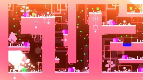 美しい2Dパズルアクションゲーム「GREEN」がSwitchでリリース