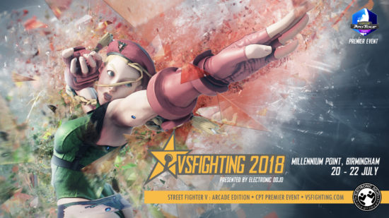 格闘ゲーム大会「VSFighting 2018」の『ストリートファイターV AE』部門で、ウメハラ選手が今シーズン初優勝!