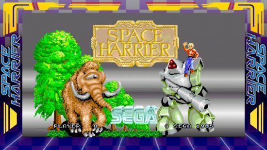 思い出の名作ゲームが、新たな感動を加えて甦る!『SEGA AGES スペースハリアー』が配信決定!