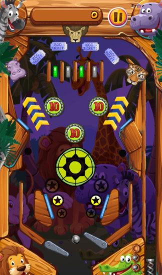 ワーカービー、「Yahoo!ゲーム かんたんゲーム」にて動物たちと一緒にピンボールを楽しめる「ピンボールどうぶつえん」を配信開始
