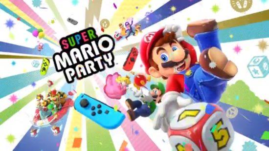 ミニゲームは80種類!Nintendo Switch用ゲーム「スーパー マリオパーティ」が10月5日より発売開始!