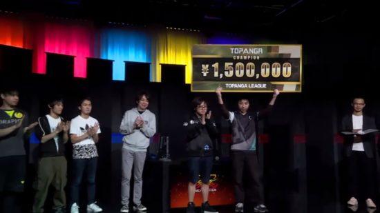 藤村選手が初参加で初優勝!『ストリートファイターV』国内大会「第7期TOPANGAリーグ」結果