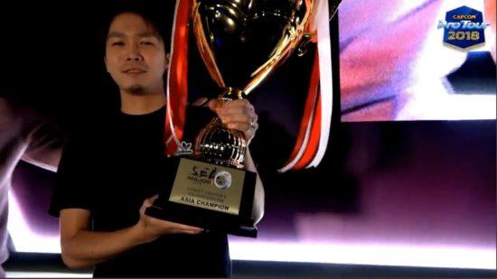 格闘ゲーム「ストリートファイターV AE」CPTアジア決勝大会にて、ガチくん選手が優勝!カプコンカップ2018の出場資格を獲得