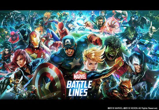アイアンマンやスパイダーマンなど人気ヒーローが登場!スマホ向けカードゲーム『MARVEL Battle Lines』が10月11日より事前登録開始!