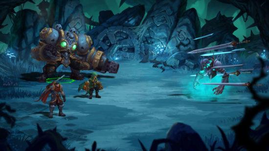 大人気アメコミが原作のJRPGの傑作『Battle Chasers: Nightwar』がニンテンドーeショップにて発売開始!