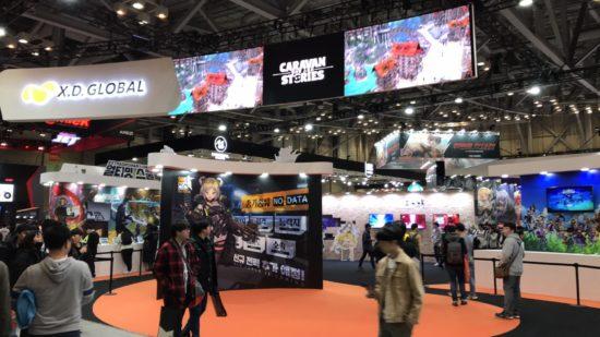 韓国最大のゲームショウ「G-STAR 2018」が開幕、今日から11月18日までの4日間