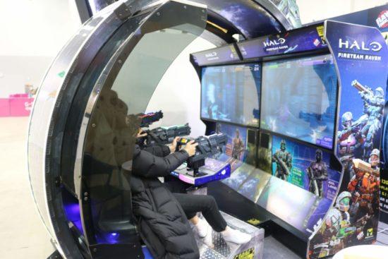 G-STARのBtoBエリアは韓国国内のVR企業や海外企業が他数出展、今後の発展に期待