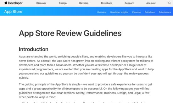 Apple、App Store Review ガイドラインを一部改定、課金アイテムのプレゼントが可能に