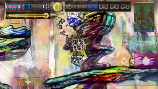 機械が機械を生み続け、そして破壊し合う極彩色のディストピア・アクションゲーム「ヴァルカン 3055」