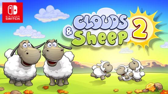 Switchでもふもふヒツジと遊ぼう!ほのぼの系、牧場シミュレーション! 『クラウド&シープ2(Clouds & Sheep 2)』が2019年1月17日発売開始!