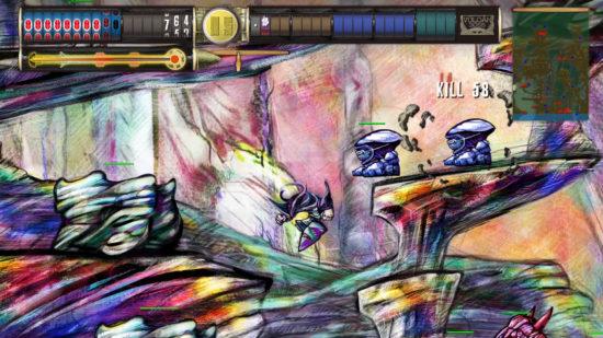 独特な世界観を追求したインディー系アクションゲーム「VULCAN 3055」を公開