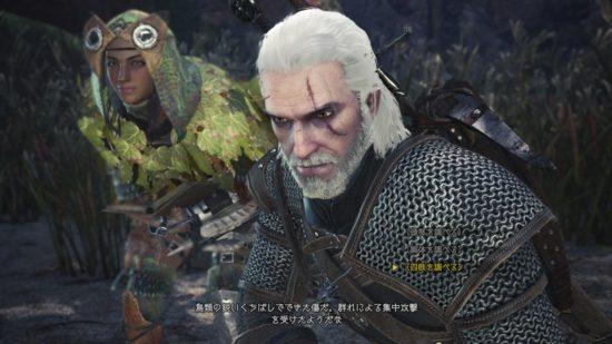 PS4版「MONSTER HUNTER: WORLD」と「ウィッチャー3」のコラボが2月8日より開始
