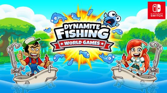 Switch向けダウンロード専用ソフト『ダイナマイトフィッシング:ワールドゲームズ』が1月31日より発売開始!期間限定で50%OFFのセールも実施
