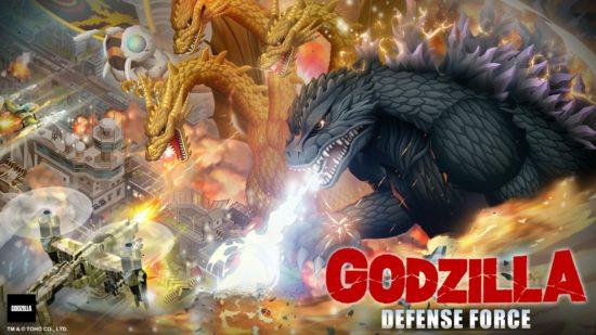 ゴジラを題材にした都市防衛モバイルゲーム「ゴジラ ディフェンスフォース」が2019年内に配信決定