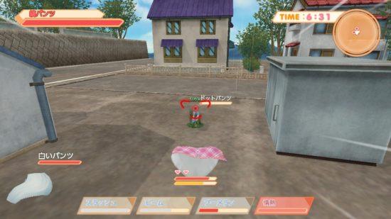 パンツが闘うアクションシューティング、Nintendo Switch「パンティパーティー」が4月25日から発売開始