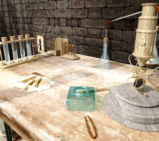 美しい3Dグラフィックによる脱出ゲーム「水底の研究室」が4月30日から配信開始