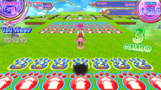 Switch向けアクションパズルゲーム「ホッピングガールこはね ジャンピングキングダム –黒兎の姫-」が5月30日に発売
