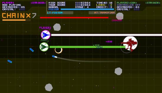 横スクロールロボットシューティング「ジェミニアームズ」が4月6日からSteamで配信開始