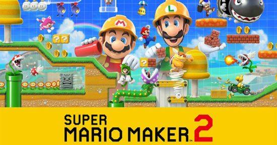 Nintendo Switch「スーパーマリオメーカー2」が6月28日から発売開始、マリオのコースを自由に作って遊ぶことが可能