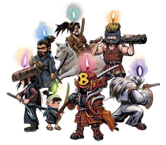 「BitSummit 7 Spirits」がウェブサイトを更新!七人の侍をインスパイアしたマスコットやロゴなどを公開