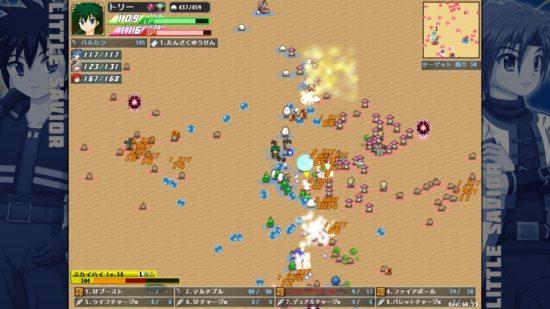 多数のユニットがぶつかり合うリアルタイムバトルアクションゲーム 「リトルセイバー」がSteamで配信開始