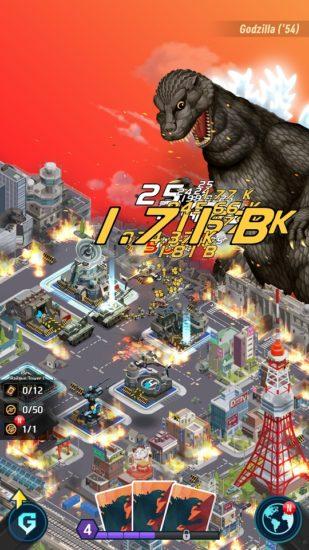 放置型都市防衛スマホゲーム「ゴジラ ディフェンスフォース」が5月23日から配信開始