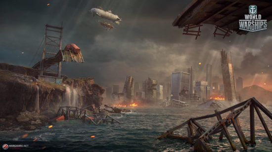 「World of Warships」がアップデートを実施、期間限定のバトルロワイアルモードを実装