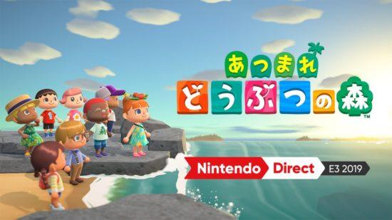 Switch版「あつまれ どうぶつの森」が2020年3月20日に発売決定、プレイ映像を初公開