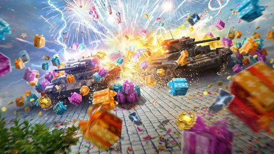 「World of Tanks Blitz」ダウンロード数が全世界1億2,000万人突破、5周年を記念したスペシャルキャンペーンを実施