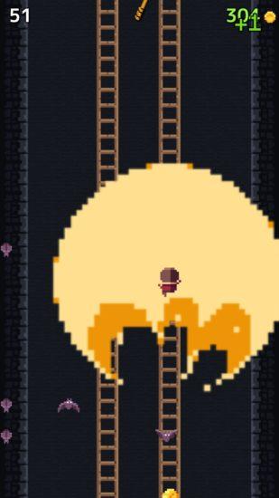 ひたすらはしごを登るiOS向けアクションゲーム「はしごクライマー」が配信開始