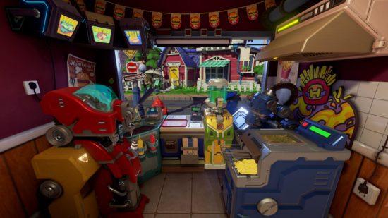 ファーストフード店の仕事が体験できるVRゲーム「I'm Hungry(アイムハングリー)」、PSプラットフォームにて配信開始