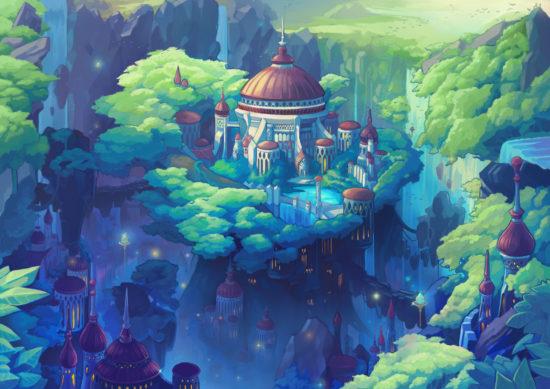 スマホゲーム「MEOW -王国の騎士-」、 主要都市やキャラクターなどの追加情報第2弾を公開