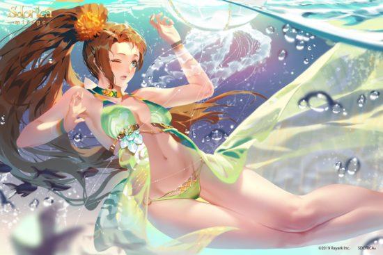 スマホRPG「Sdorica」が夏季限定イベントを開始、水着キャラの魂賦与を開放