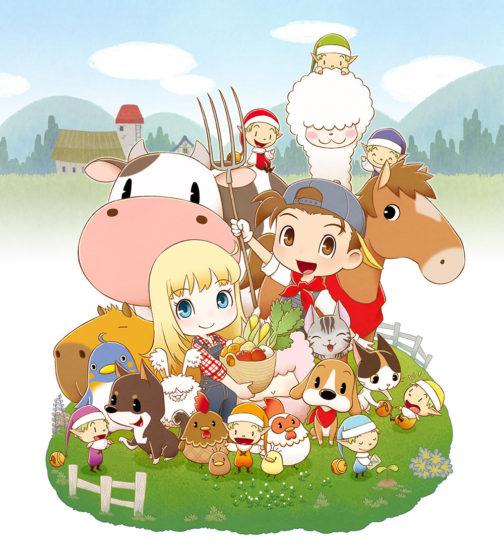 「牧場物語 再会のミネラルタウン」がSwitchで10月17日に発売決定、2003年発売「ミネラルタウンのなかまたち」が原作
