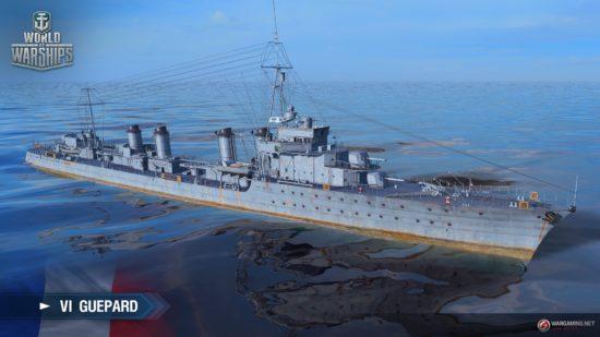 海戦アクション「World of Warships」が0.8.6アップデート、フランス Tier V-IX駆逐艦へのアーリーアクセスなどを実装