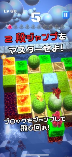 Google Play Indie Games Festival 2019トップ20選出ゲーム「Jumpion」、App Storeで配信開始