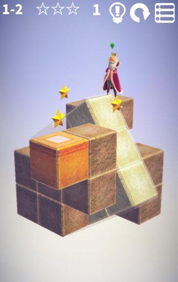お散歩する王様の通り道を作ろう 絵本のような温かみのある3Dパズルゲーム「CUBE GARDEN」