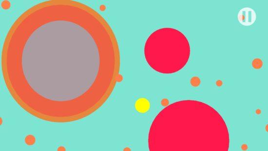 黄色いドットを操作して大きくしていくカジュアルゲーム「Dot Scale」が配信開始