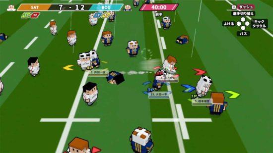 ラグビーを手軽に楽しめるゲーム「机でラグビー」、ニンテンドーeショップで配信開始